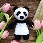 Panda amigurumi