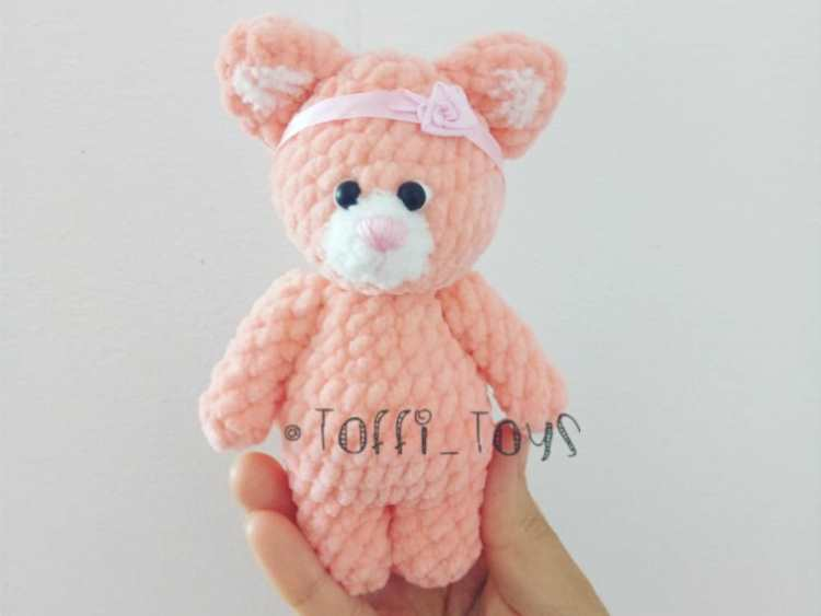 Crochet Cat Amigurumi Plush Pattern Amigurumi Space