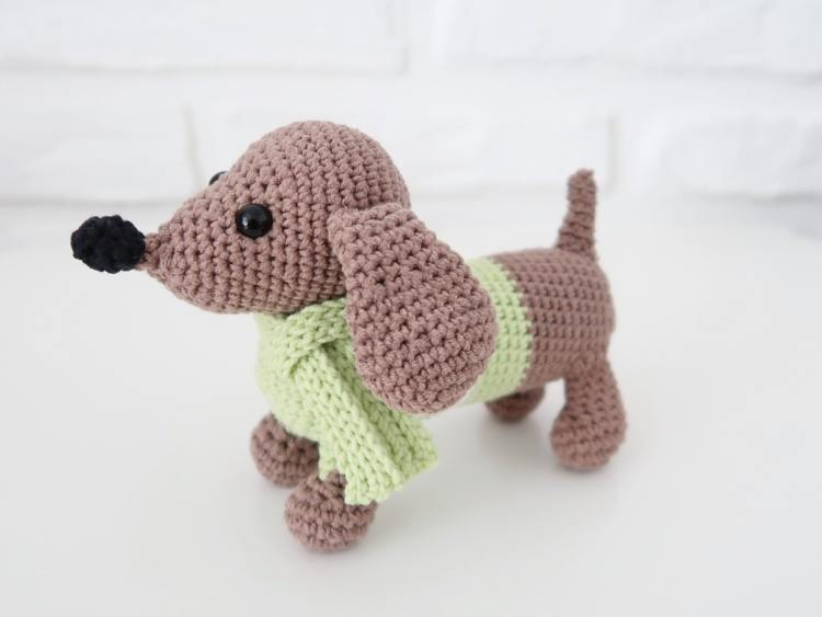 Amigurumi Dog Crochet Pattern | Supergurumi | 563x750
