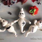 Crochet ghosts amigurumi