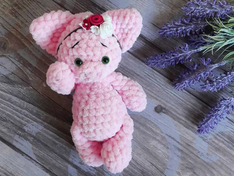Amigurumi Little Piggy Free Pattern (With images) | Crochet pig ... | 563x750