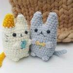 Crochet plush cat amigurumi
