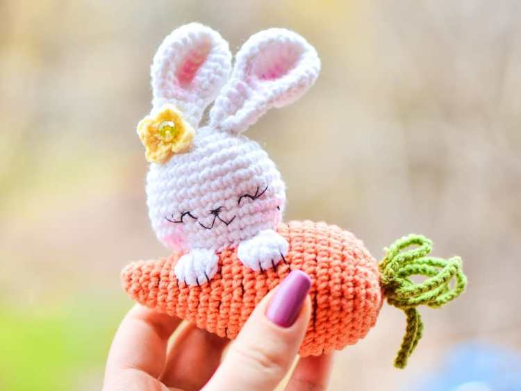 Crochet Amigurumi Bunny Toy Free Patterns Instructions | 563x750