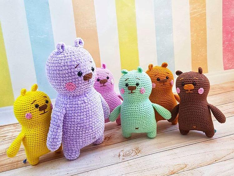 Crochet bears amigurumi