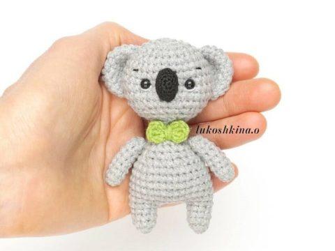 Crochet koala amigurumi