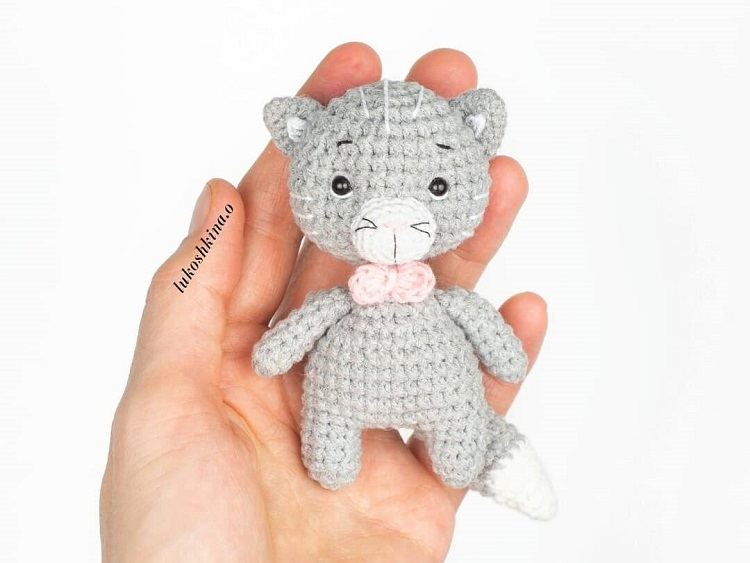 Amigurumi Little Cat Tutorial #амигуруми #amigurumi ... | 563x750