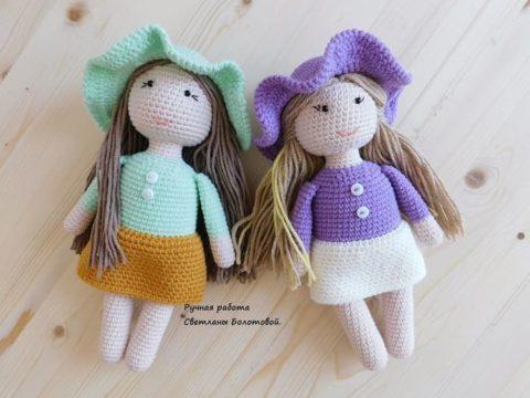 Crochet dolls amigurumi
