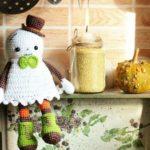 Halloween ghost amigurumi