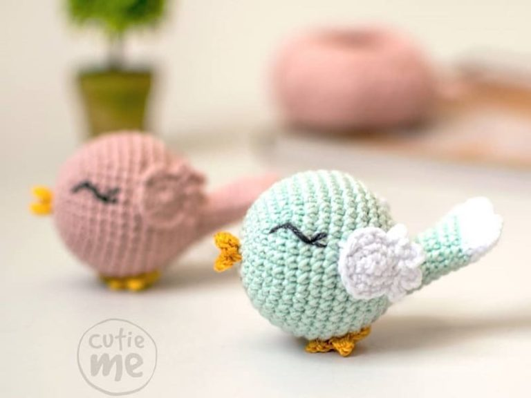 Crochet birds amigurumi