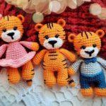 Crochet tiger amigurumi