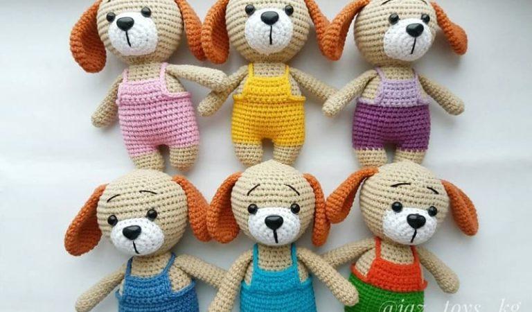 Amigurumi puppy dog free pattern